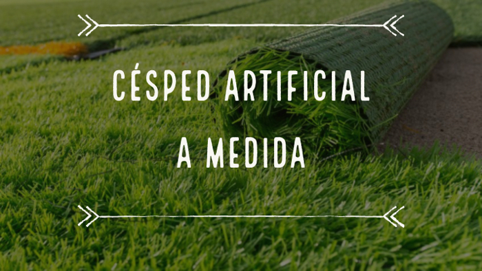 cesped artificial a medida
